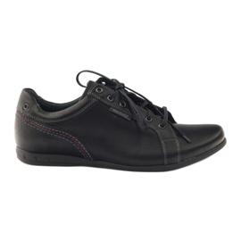 Negro Zapatillas deportivas para hombre Riko 776