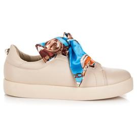 Zapatillas Atadas Con Cinta VICES marrón
