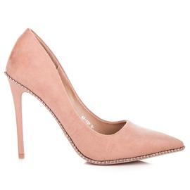 Seastar Pasadores de moda del polvo rosa