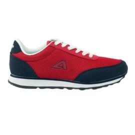 American Club Zapatos deportivos americanos rojos
