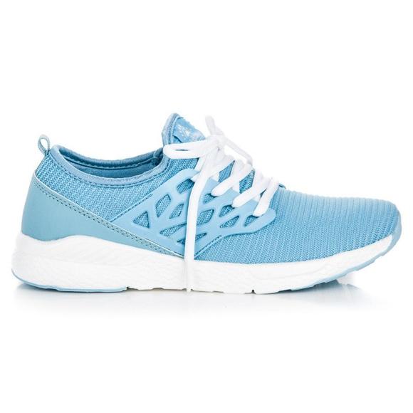 Ax Boxing Zapatos de tela sin cordones azul