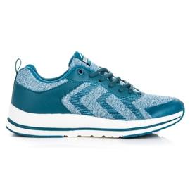 Ax Boxing Zapatos deportivos atados azul