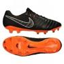 Zapatillas de fútbol Nike Tiempo Legend 7 Elite FG M AH7238-080 negro