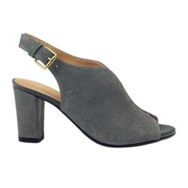 ESPINTO 248 sandalias gris cobra