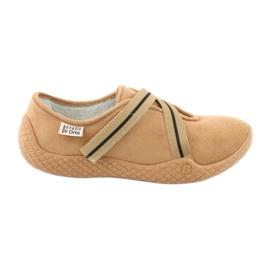 Befado zapatos de mujer pu - joven 434D017 marrón