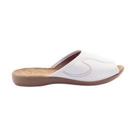 Zapatos de mujer befado pu 254D058 blanco