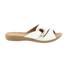 Zapatos de mujer befado pu 265D002. blanco