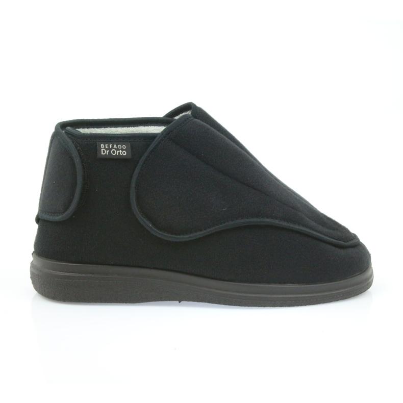 Zapatos de mujer befado pu orto 163D002 negro