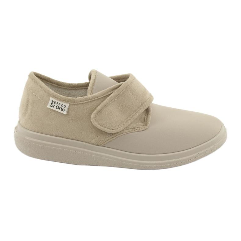 Zapatos de mujer befado pu 036D005 marrón