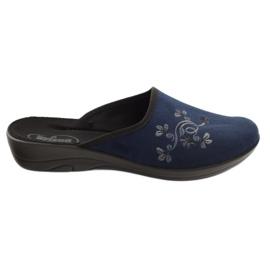 Zapatos de mujer befado pu 552D005 azul marino