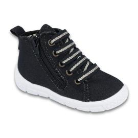 Negro Zapatillas befado para niños 547P003