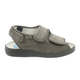 Zapatos de mujer befado pu 676D006 gris