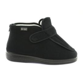 Negro Zapatos de mujer befado pu orto 987D002
