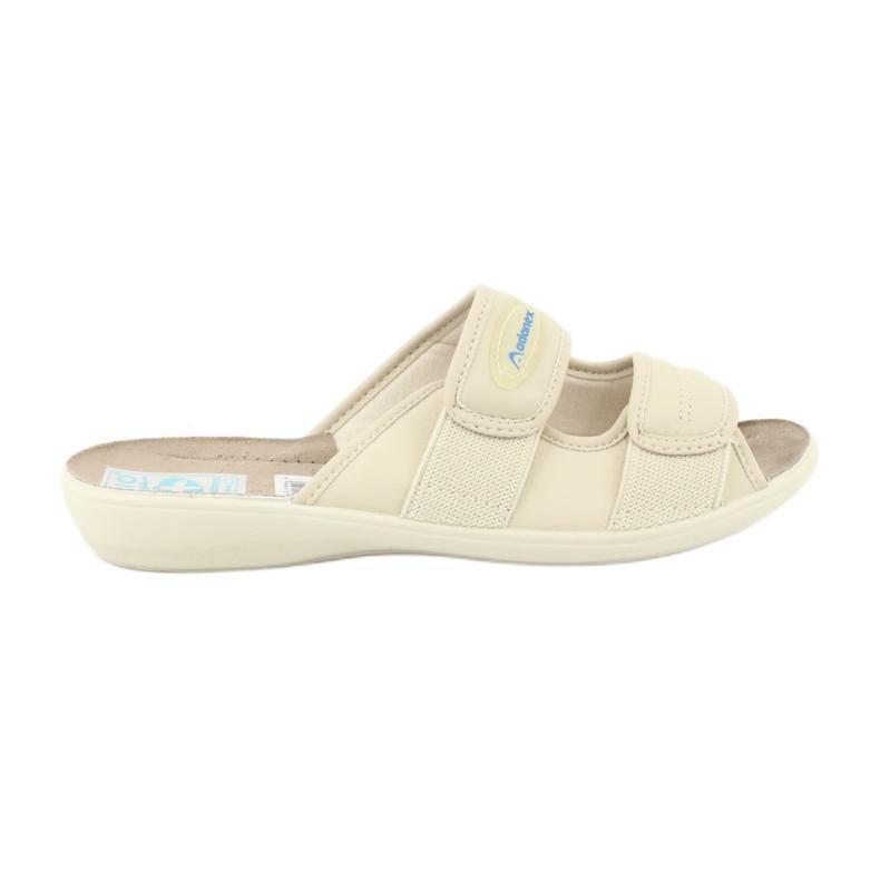 Zapatillas elásticas Adanex 17660 beige