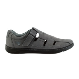 Gris Riko zapatos de hombre sandalias 851