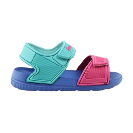 American Club sandalias azules para niños 6631