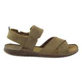Marrón Riko sandalias deportivas 852