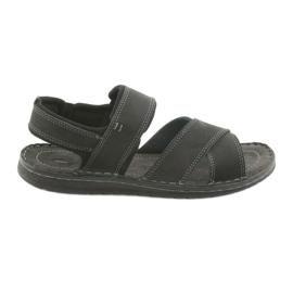Negro Sandalias hombre riko 852 zapatillas deportivas.