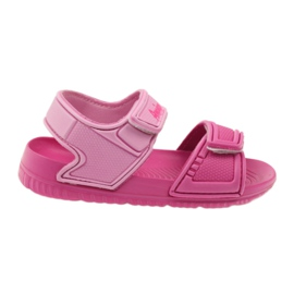 American Club sandalias rosadas para niños al agua