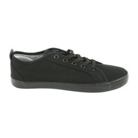 American Club Zapatillas americanas para zapatillas de mujer. negro