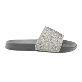 Zapatillas perfiladas Big Star glitter gris