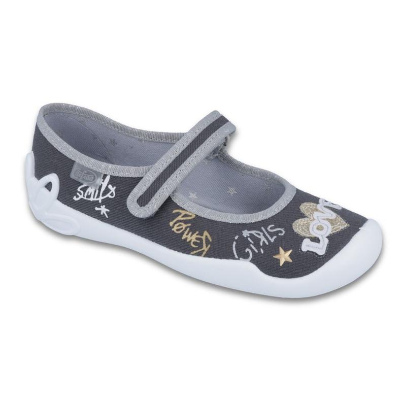 Zapatillas befado infantil 114Y314 gris