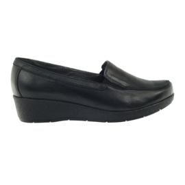 Zapatos mocasines angello 1720 negros