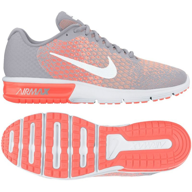 Nike Wmns Nike Air Max zapatillas de running gris