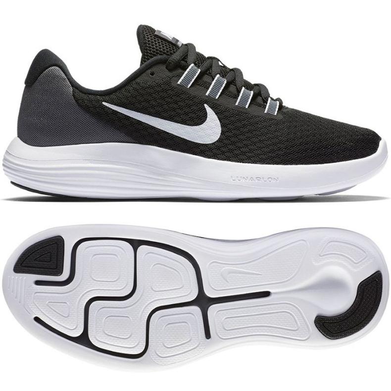 Zapatillas de running Nike Lunarconverge W negro