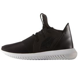Negro Zapatillas desafiantes tubulares Adidas Originals en S75249