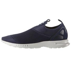 Adidas Originals Zx Flux deslizamiento suave en los zapatos W S78958 marina
