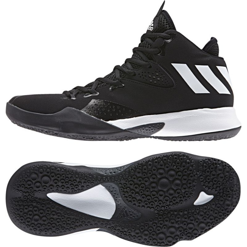 Zapatillas de baloncesto adidas Dual Threat 2017 M BY4182 negro