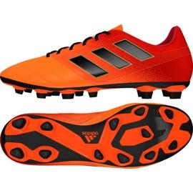 Zapatillas de fútbol adidas Ace 17.4 FxG M S77094 rojo naranja rojo