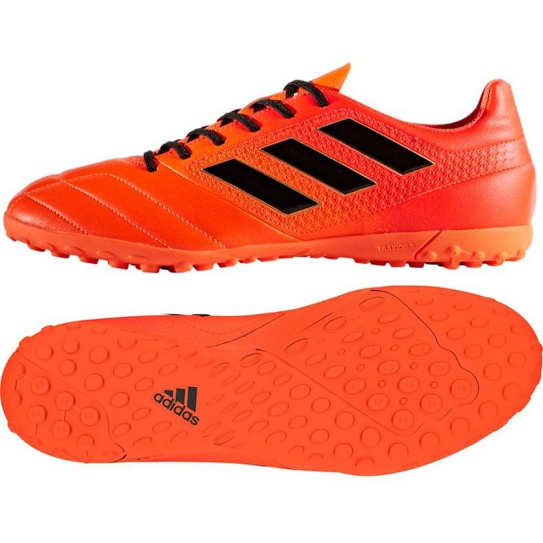 Zapatillas de fútbol Adidas ACE 17.4 TF M S77115 rojo