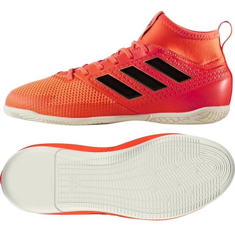 Zapatos de interior adidas Ace Tango 17.3 In Jr CG3714 rojo naranja rojo