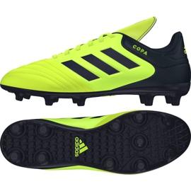 Calzado de fútbol adidas Copa 17.3 Fg M S77143 multicolor negro amarillo