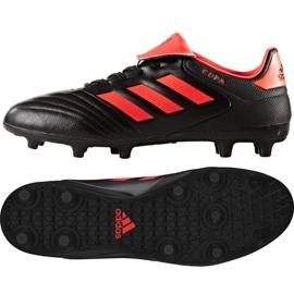 Calzado de fútbol adidas Copa 17.3 Fg M S77144 negro negro naranja