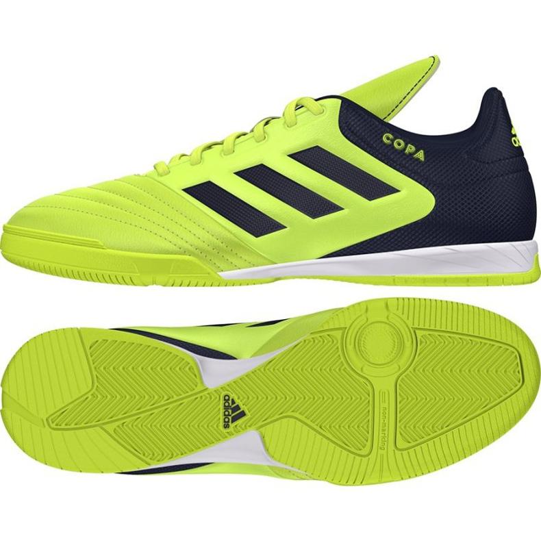 Adidas Copa 17.3 In M S77147 Zapatillas indoor verde