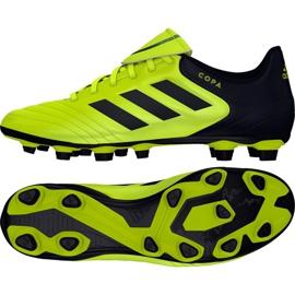 Calzado de fútbol adidas Copa 17.4 FxG M S77162 negro amarillo negro