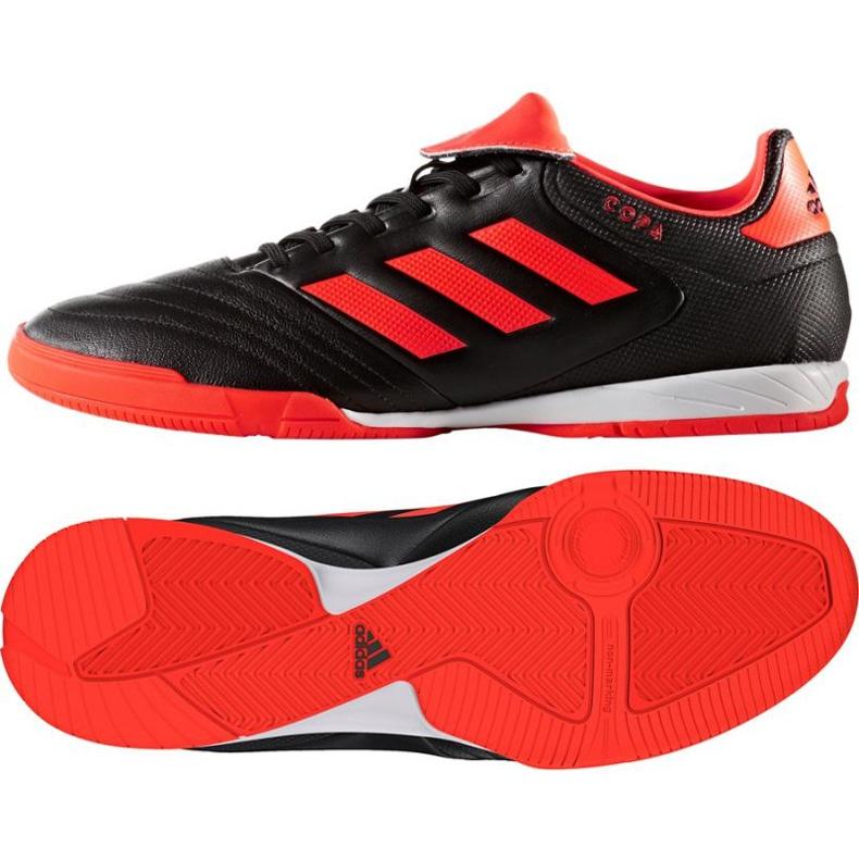 Zapatos de interior adidas Copa Tango 17.3 In M S77148 negro naranja negro