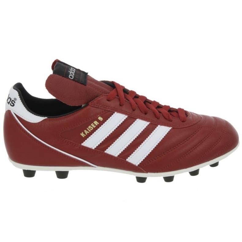 Botas de fútbol Adidas Kaiser 5 Liga Fg M rojo