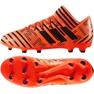 Botas de fútbol adidas Nemeziz 17.3 Fg Jr S82428 naranja naranja