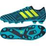 Botas de fútbol Adidas Nemeziz 17.4 azul