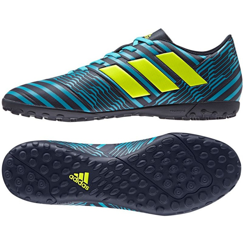 Zapatillas de fútbol Adidas Nemeziz 17.4 Tf M negro