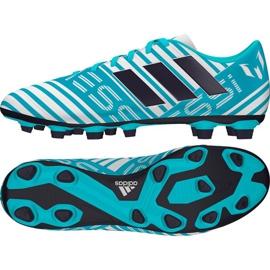 Adidas Nemeziz Messi, zapatos de fútbol 17.4 azul
