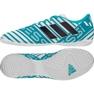 Zapatos de interior adidas Nemeziz Messi 17.4 azul