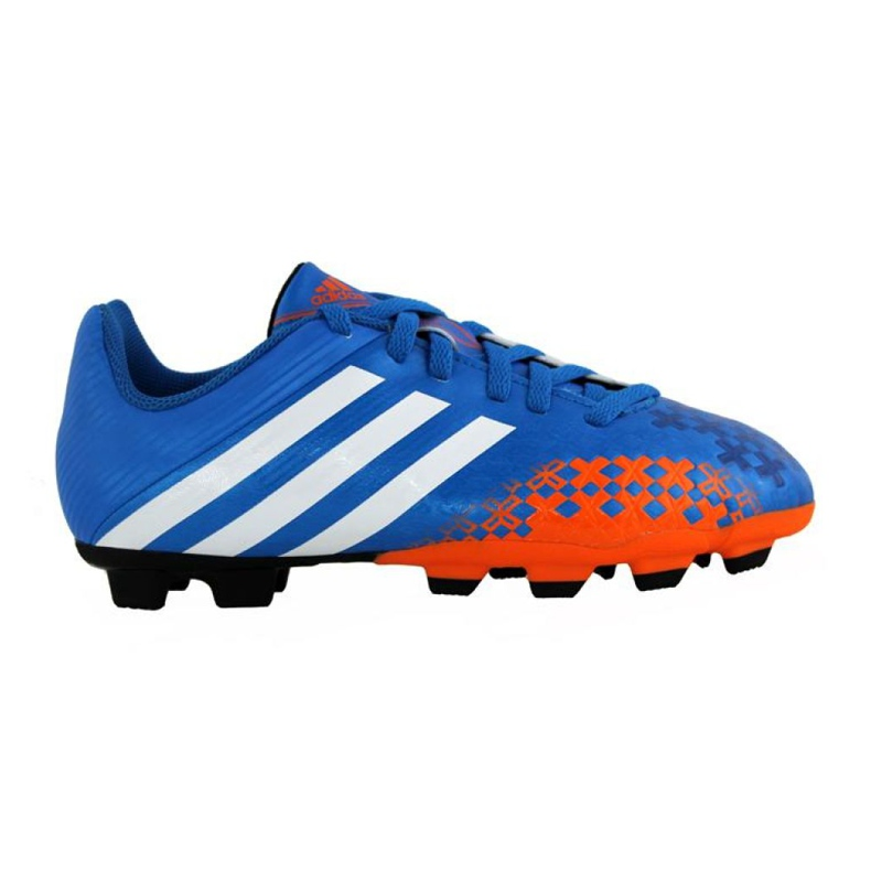 Zapatillas de fútbol Adidas Predito Lz Fg Junior Q21735 azul azul