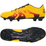 Zapatillas de fútbol adidas X 15.3 FG / AG M naranja