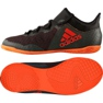 Zapatillas de fútbol Adidas X Tango 17.3 In Jr CG3724 negro naranja negro