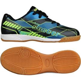 Zapatos de interior Atletico In Jr 7336 S76637 multicolor negro